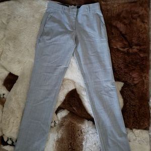 Gap Light Gray True Straight Leg Pants